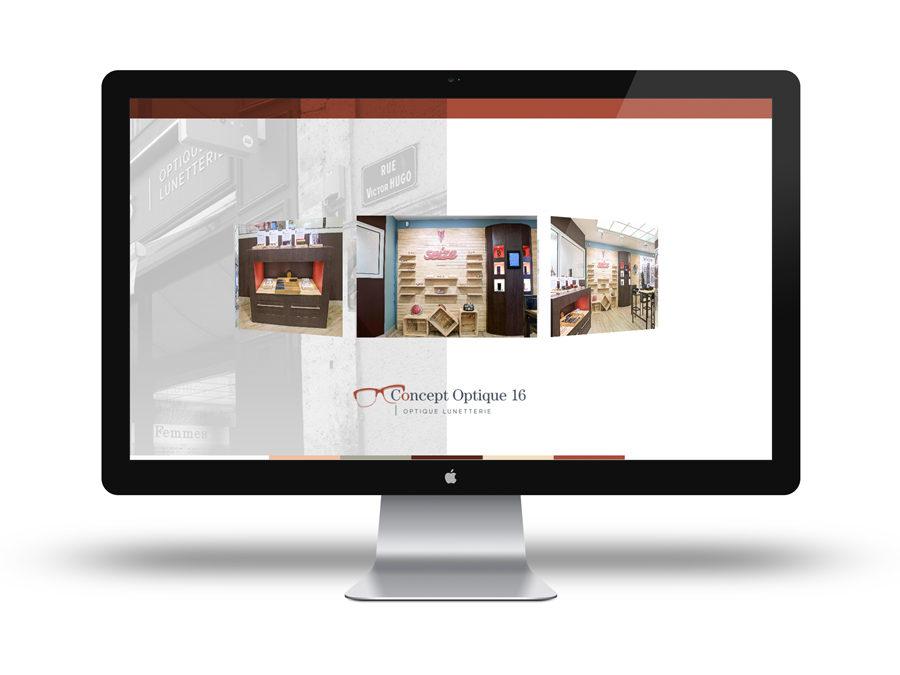 Nouveau Site Web Concept Optique 16